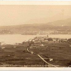 Fotografía antigua: 1870 - 1880 FOTOGRAFÍA ALBÚMINA FUENTERRABÍA HONDARRIBIA (GUIPÚZCOA) SOBRE CARTÓN. Lote 174531519