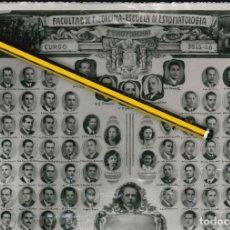 Fotografía antigua: FOTO AÑOS CUARENTA CUADRO DE LA FACULTAD DE MEDICINA DE ESTOMATOLOGIA 1945. Lote 175006217