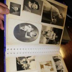 Fotografía antigua: ALBUM DE FOTOS ANTIGUO. Lote 175229372