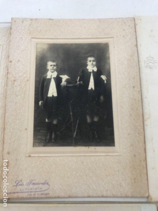 Fotografía antigua: LOTE DE 16 ALBUMINA FINALES DEL SIGLO XIX. VER FOTOS ANEXAS. - Foto 3 - 175404257