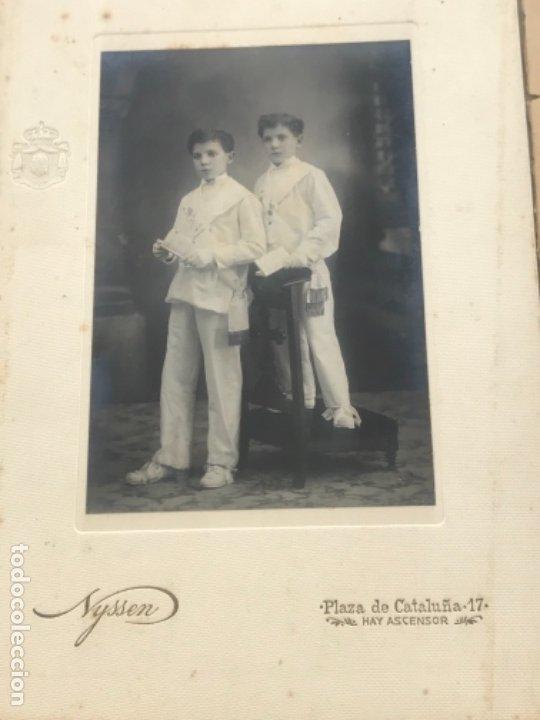 Fotografía antigua: LOTE DE 16 ALBUMINA FINALES DEL SIGLO XIX. VER FOTOS ANEXAS. - Foto 4 - 175404257