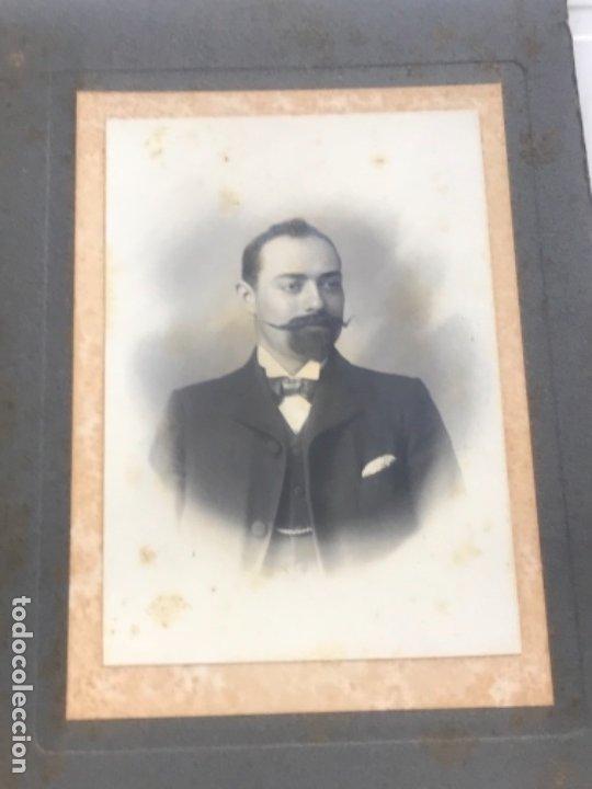 Fotografía antigua: LOTE DE 16 ALBUMINA FINALES DEL SIGLO XIX. VER FOTOS ANEXAS. - Foto 7 - 175404257