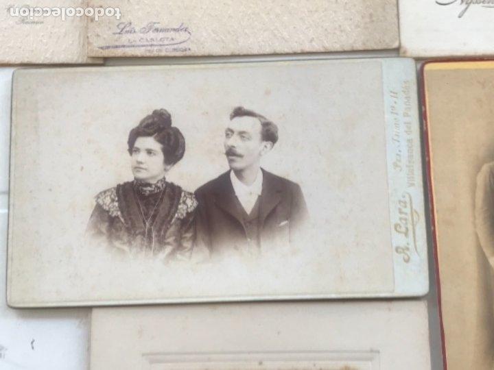 Fotografía antigua: LOTE DE 16 ALBUMINA FINALES DEL SIGLO XIX. VER FOTOS ANEXAS. - Foto 8 - 175404257