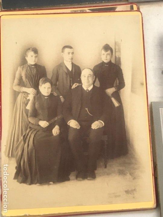 Fotografía antigua: LOTE DE 16 ALBUMINA FINALES DEL SIGLO XIX. VER FOTOS ANEXAS. - Foto 15 - 175404257