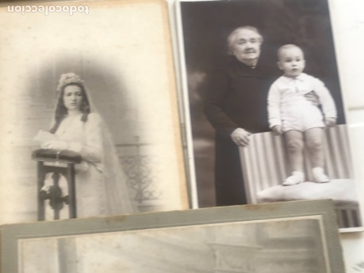 Fotografía antigua: LOTE DE 16 ALBUMINA FINALES DEL SIGLO XIX. VER FOTOS ANEXAS. - Foto 17 - 175404257