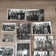 Fotografía antigua: IMPRESIONANTE LOTE DE FOTOGRAFÍAS DE ZOKO Y JUGADORES DEL REAL MADRID. Lote 175784823