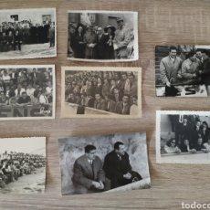 Fotografía antigua: LOTE DE FOTOGRAFÍAS ANTIGUAS DE SEGUIDORES DE FÚTBOL DE ZOCO. Lote 175786357
