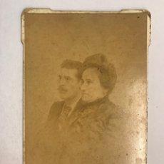 Fotografía antigua: ÁLBUMINA ANTIGUA. FOTOGRAFÍA RETRATO FAMILIAR (H.1900?) AUTOR: J DERREY. VALENCIA. Lote 175943694