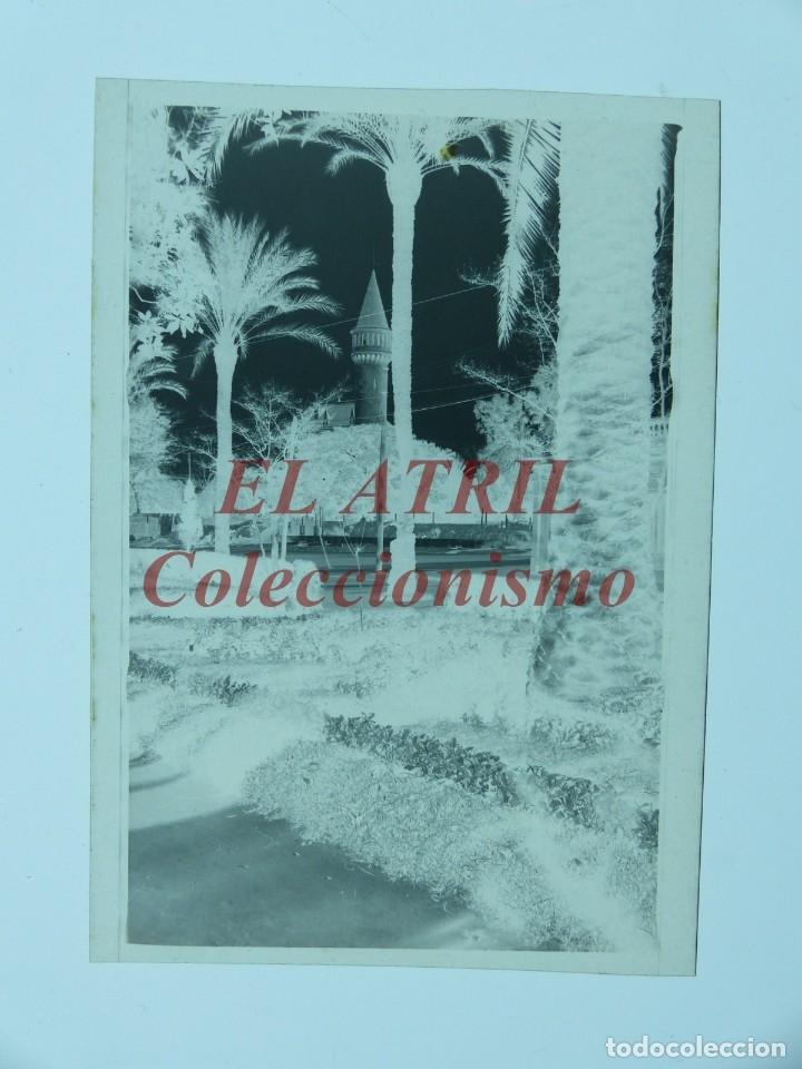 Fotografía antigua: VALENCIA - VISTA DEL PALACIO DE RIPALDA - CLICHE NEGATIVO EN CELULOIDE - AÑOS 1930-50 - Foto 2 - 176233070
