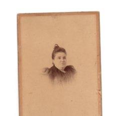 Fotografía antigua: FOTO CABINET - ESTUDIO FOTOGRÁFICO.- NAL Y CHICANO. CÁDIZ. Lote 176302464