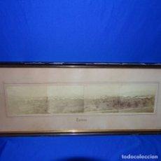 Fotografía antigua: 4 FOTOGRAFÍAS APAISADAS DE TERRASSA DEL SIGLO XIX.SOBRE 1880.PIEZA ÚNICA.. Lote 176452604