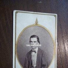 Fotografía antigua: FOTOGRAFIA ANTIGUA. CON REAL PRIVILEGIO,E.MESTRE.LA HABANA.CUBA.CIRCA 1868. Lote 176576942