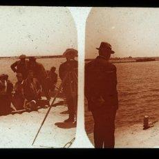 Fotografía antigua: CABO DE PALOS 1928 CRISTAL POSITIVO ESTEREOSCOPICO. Lote 176873088