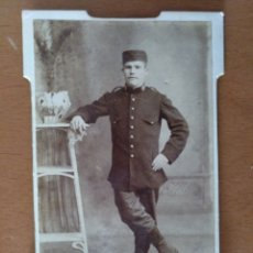 Fotografía antigua: FOTO CABINET - ESTUDIO FOTOGRÁFICO J. MARTÍN. MELILLA. PRINCIPIOS SIGLO XX. Lote 189365107