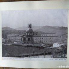 Fotografía antigua: GUIPUZCOA SAN IGNACIO DE LOYOLA. Lote 177417757