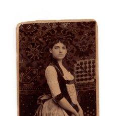 Fotografia antica: FOTO CABINET.- ESTUDIO FOTOGRÁFICO. ARGILL.. Lote 177601939