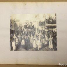 Fotografía antigua: LOTE DE 2 FOTOGRAFIAS ALBUMINA GIRALDA Y PROCESION RELIGIOSA. SEVILLA. C. 1880. Lote 178093699