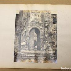 Fotografía antigua: LOTE DE 2 FOTOGRAFIAS ALBUMINA CATEDRAL DE SEVILLA. C. 1880. Lote 178094302