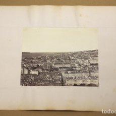 Fotografía antigua: LOTE DE 2 FOTOGRAFIAS ALBUMINA LISBOA Y JERUSALEN. C. 1880. Lote 178095494