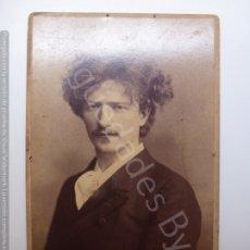 Fotografía antigua: FOTOGRAFÍA ANTIGUA ORIGINAL. PIANISTA PADEREWSKI. (16,5 X 10,5 CM). Lote 178202213