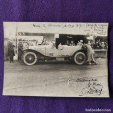 Fotografía antigua: FOTOGRAFIA ORIGINAL. 24 HORAS DE LE MANS. 1928. AUTOMOVILISMO. RARA. 16,5 X 11,5 CM.. Lote 178325321