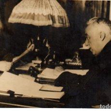 Fotografía antigua: 1936 ORIGINAL FOTOGRAFIA DEL PRESIDENTE DE LA REPUBLICA ALCALA ZAMORA GUERRA CIVIL REPUBLICA ESPAÑOL. Lote 178394715