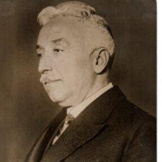 Fotografía antigua: 1936 ORIGINAL FOTOGRAFIA DEL PRESIDENTE DE LA REPUBLICA ALCALA ZAMORA GUERRA CIVIL RETRATO ESPAÑOLA. Lote 178394733