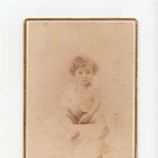 Fotografía antigua: FOTO CABINET.- ESTUDIO FOTOGRÁFICO. VIUDA DE AMAYRA FERNANDEZ. MADRID.. Lote 178560110