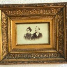 Fotografía antigua: ELEGANTE ALBUMINA ENMARCADA. FINALES DEL S.XIX. . Lote 178644197