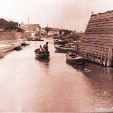 Fotografía antigua: PALMAR ALBUFERA NEGATIVO CELULOIDE. Lote 178650226