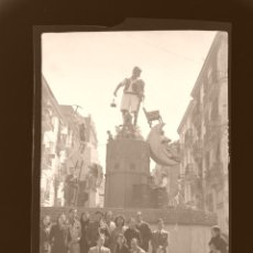 Fotografía antigua: VALENCIA - FALLAS - CLICHE ORIGINAL - NEGATIVO EN CELULOIDE - AÑOS 1930. Lote 178712811