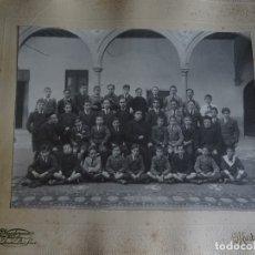 Fotografía antigua: FOTO ESCOLARES, POSIBLEMENTE DEL INSTITUTO SANTISIMA TRINIDAD BAEZA, 22 X 17, 1919. Lote 178728377