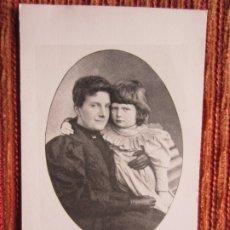 Fotografía antigua: FOTOGRAFÍA DE MARÍA DE LA PAZ, HIJA DE ISABEL II, REINA DE ESPAÑA. REEDITADA EN 1971. Lote 179393206