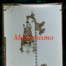 Fotografía antigua: MODERNISME - PALAU MACAYA - FANAL - 1890'S . Lote 179520280