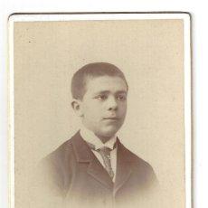 Fotografía antigua: FOTOGRAFÍA- MUCHACHO. FOTÓGRAFO COYNE- ZARAGOZA. Lote 179521532