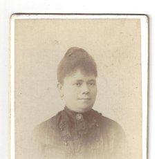 Fotografía antigua: FOTOGRAFÍA- SEÑORA. FOTÓGRAFO COYNE- ZARAGOZA. Lote 179521695