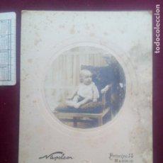 Fotografía antigua: NAPOLEÓN FOTÓGRAFO (MADRID). Lote 179532555
