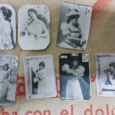 Fotografía antigua: LOTE PEQUEÑAS FOTOGRAFÍAS DAMAS ANTIGUAS. Lote 179536398
