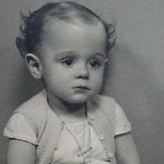 Fotografía antigua: ANTIGUA FOTOGRAFÍA RETRATÓ NIÑO FOTO EDO SEVILLA. Lote 180203598