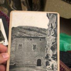Fotografía antigua: FOTOGRAFÍA ANTIGUA SANT MIGUEL DEL FAY FACHADA PRINCIPAL (18X12) - VER LAS FOTOS - BARCELONA ARTE. Lote 180288812