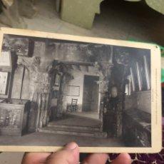 Fotografía antigua: ANTIGUA FOTOGRAFÍA BARCELONA ARTÍSTICA - COLUMNAS DEL TEMPLO D HERCUL EN LA CARRER DE PARADIS -. Lote 180289055