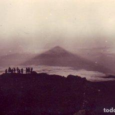 Fotografía antigua: TENERIFE SOMBRA DEL TEIDE. Lote 180291318