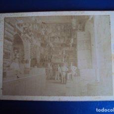 Fotografía antigua: (FOT-191036)FOTOGRAFIA ALBUMINA TIENDA DE LICORES Y ULTRAMARINOS-MOLINA E HIJO-MAYAGUEZ(PUERTO RICO). Lote 180336661
