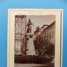 Fotografía antigua: XATIVA, VALENCIA - VISTA - FOTOGRAFICA - AÑOS 1920-30. Lote 180393115