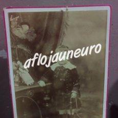 Fotografía antigua: ANTIGUA FOTOGRAFIA DE NIÑO DEL FOTOGRAFO -NAPOLEON HIJO- MADRID. Lote 180396845
