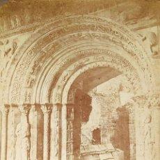 Fotografía antigua: 7 ALBÚMINAS DE ARQUITECTURA RELIGIOSA EN RUINAS. ESPAÑA. SIGLO XIX. Lote 180479280