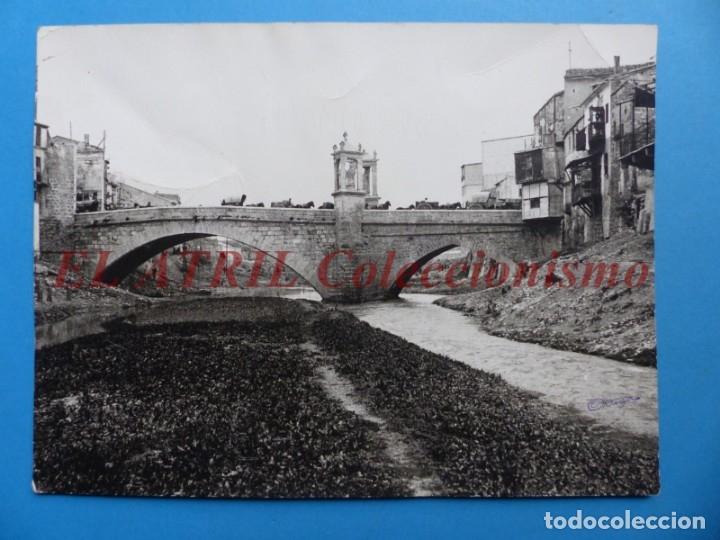 ALCIRA, VALENCIA - ANTIGUA FOTOGRAFIA, FOTOGRAFICA - AÑOS 1940-50 (Fotografía Antigua - Albúmina)