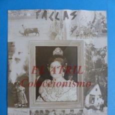 Fotografía antigua: VALENCIA - FALLAS, FALLERA, FOTOGRAFICA - AÑOS 1950-60. Lote 180837656