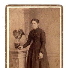 Fotografía antigua: FOTOGRAFIA ALBUMINA F. NAVARRO. MADRID. Lote 181566263