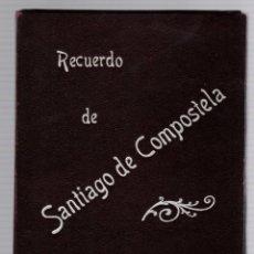 Fotografía antigua: ALBUM RECUERDO DE SANTIAGO DE COMPOSTELA. LIBRERIA RELIGIOSA. CIRCA 1910. ESPECTACULAR. Lote 182367382